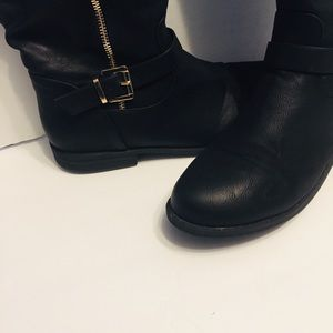 Shoes - Over the Knee Wide Calf Boots